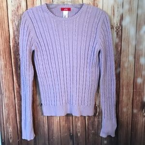 🛍Anne Klein Sport Cable Knit Sweater